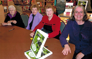 Oct 23, 2011 - Wis Book Festival - Melva, Marie, Carolyn, and Joan