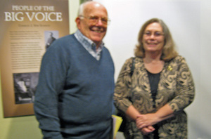 Oct 23, 2011 - Wis Book Festival - Boyd & Vickie