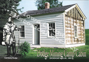 ·Post Card Henry Dodge settlement (Watermark)
