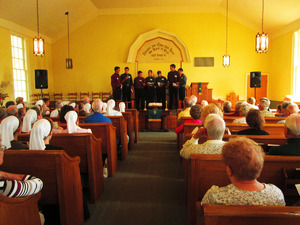The Mennonite men octtet a chapela group
