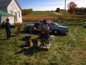 Greg Winz - blacksmith from Ridgeway