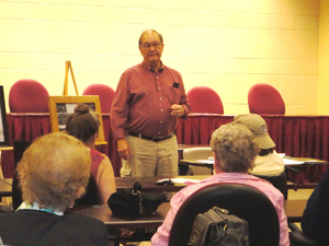 Don McGuire talked about the CCC Camp at Highland,